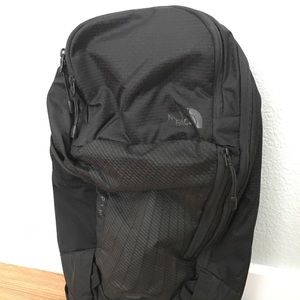 New North face black backpack